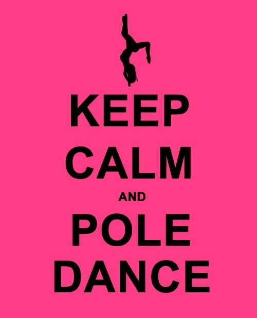 AmourBlogEtBeaute Keep calm and pole dance